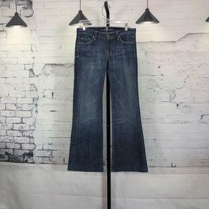 7 for All ManKind Dojo Denim Jeans Size 27
